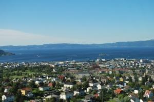 utsikt från Tyholttornet